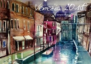 Venezia 2018AT-Version (Wandkalender 2018 DIN A2 quer) von Pickl,  Johann