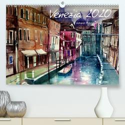 Venezia 2020AT-Version (Premium, hochwertiger DIN A2 Wandkalender 2020, Kunstdruck in Hochglanz) von Pickl,  Johann