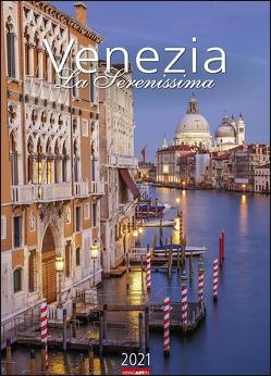 Venezia – La Serenissima Kalender 2021 von Weingarten