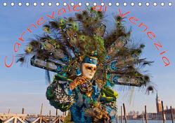 Venezianische Karnevals-Impressionen (Tischkalender 2019 DIN A5 quer) von Lischewski,  Axel