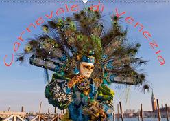 Venezianische Karnevals-Impressionen (Wandkalender 2019 DIN A2 quer) von Lischewski,  Axel