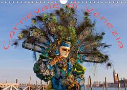 Venezianische Karnevals-Impressionen (Wandkalender 2019 DIN A4 quer) von Lischewski,  Axel
