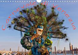 Venezianische Karnevals-Impressionen (Wandkalender 2020 DIN A4 quer) von Lischewski,  Axel
