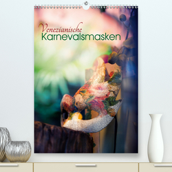 Venezianische Karnevalsmasken (Premium, hochwertiger DIN A2 Wandkalender 2020, Kunstdruck in Hochglanz) von Roshkoff,  Jeanne
