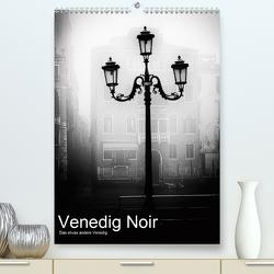 Venice Noir – Das etwas andere Venedig (Premium, hochwertiger DIN A2 Wandkalender 2021, Kunstdruck in Hochglanz) von Hörnig,  Walter