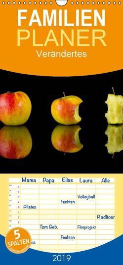 Verändertes – Familienplaner hoch (Wandkalender 2019 <strong>21 cm x 45 cm</strong> hoch) von Goerz,  Beate