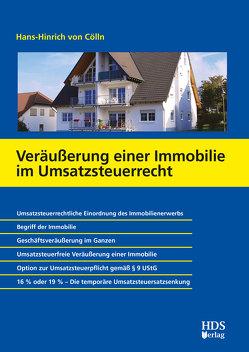 Veräußerung einer Immobilie im Umsatzsteuerrecht von von Cölln,  Hans-Hinrich