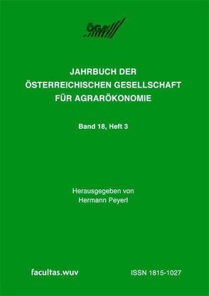 Veränderungen der landwirtschaftlichen Wirklichkeit von Peyerl,  Hermann