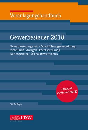 Veranlagungshandb. Gewerbesteuer 2018, 68.A. von Boveleth,  Karl-Heinz