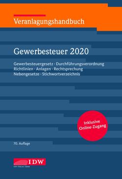 Veranlagungshandbuch Gewerbesteuer 2020, 70.A. von Boveleth,  Karl-Heinz