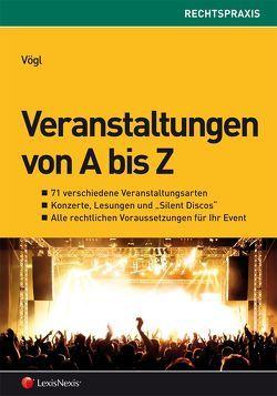 Veranstaltungen von A bis Z von Vögl,  Klaus Christian