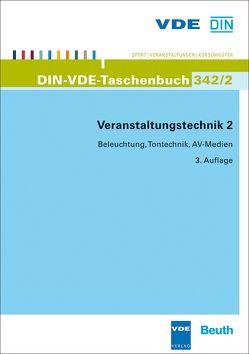 Veranstaltungstechnik 2 von DIN e.V., VDE e.V.
