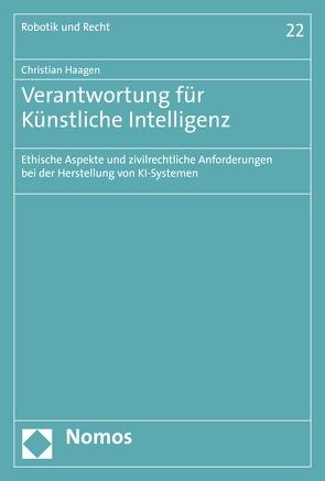 Verantwortung für Künstliche Intelligenz von Haagen,  Christian