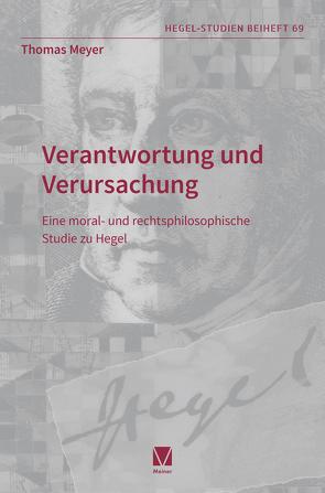 Verantwortung und Verursachung von Meyer,  Thomas