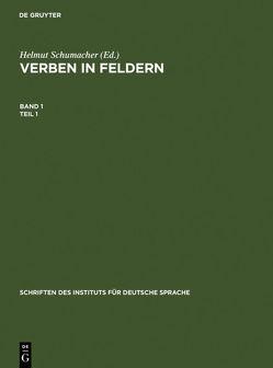 Verben in Feldern von Schumacher,  Helmut