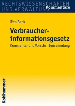 Verbraucherinformationsgesetz von Beck,  Rita