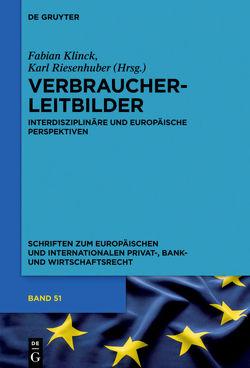 Verbraucherleitbilder von Klinck,  Fabian, Riesenhuber,  Karl