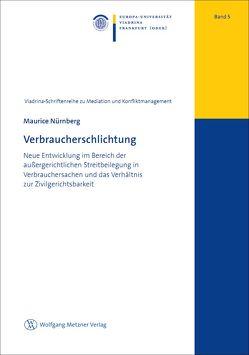 Verbraucherschlichtung von Nürnberg,  Maurice