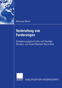 Verbriefung von Forderungen von Bertl,  Andreas