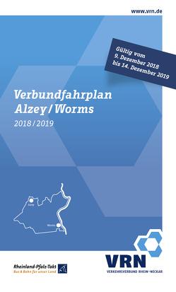 Verbundfahrplan 2018/2019 von Verkehrsverbund Rhein-Neckar (VRN GmbH)
