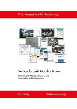Verbundprojekt Mobility Broker von Krempels,  Karl-Heinz, Terwelp,  Christoph