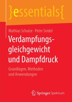 Verdampfungsgleichgewicht und Dampfdruck von Schulze,  Mathias, Seidel,  Peter