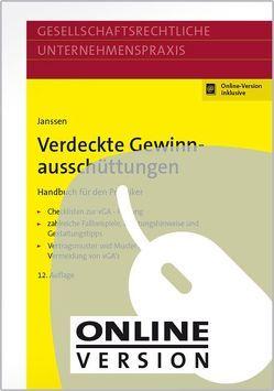 Verdeckte Gewinnausschüttungen von Janssen,  Bernhard, Lange,  Joachim