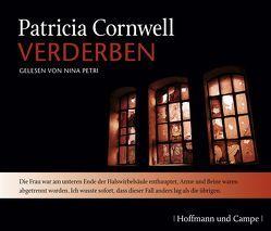 Verderben  CD von Cornwell,  Patricia, Hohl,  Tina, Petri,  Nina