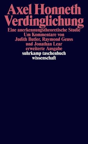 Verdinglichung von Honneth,  Axel