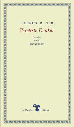 Verehrte Denker von Hamilton,  Anne, Ritter,  Henning