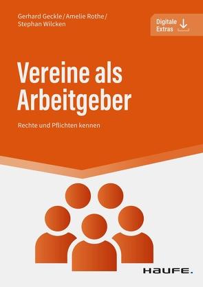 Vereine als Arbeitgeber von Geckle,  Gerhard, Rothe,  Amelie, Wilcken,  Stephan