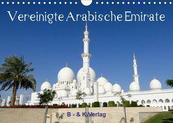 Vereinigte Arabische Emirate (Wandkalender 2019 DIN A4 quer) von & Kalenderverlag Monika Müller,  Bild-