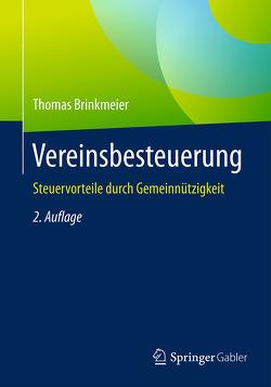 Vereinsbesteuerung von Brinkmeier,  Thomas