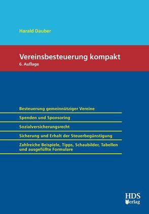 Vereinsbesteuerung Kompakt von Dauber,  Harald