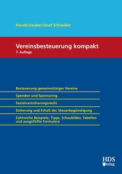 Vereinsbesteuerung Kompakt von Dauber,  Harald, Schneider,  Josef