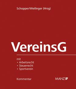 VereinsG – Vereinsgesetz inkl. 24. Lfg SUBSKRIPTIONSPREIS BIS 31. 3. 2019 von Schopper,  Alexander, Weilinger,  Arthur