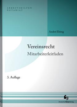 Vereinsrecht inklusive Musterdownload von Elsing,  André