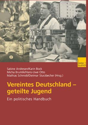 Vereintes Deutschland — geteilte Jugend von Andresen,  Sabine, Bock,  Karin, Brumlik,  Micha, Otto,  Hans-Uwe, Schmidt,  Matthias, Sturzbecher,  Dietmar