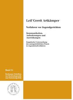 Verfahren vor Jugendgerichten von Artkämper,  Leif gerrit
