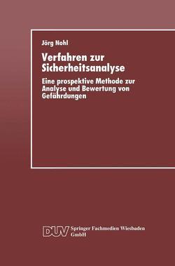 Verfahren zur Sicherheitsanalyse von Nohl,  Jörg