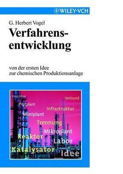 Verfahrensentwicklung von Vogel,  G. Herbert