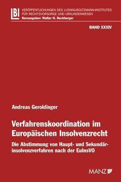 Verfahrenskoordination im Europäischen Insolvenzrecht von Geroldinger,  Andreas