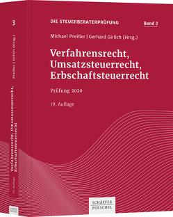 Verfahrensrecht, Umsatzsteuerrecht, Erbschaftsteuerrecht von Preißer,  Michael