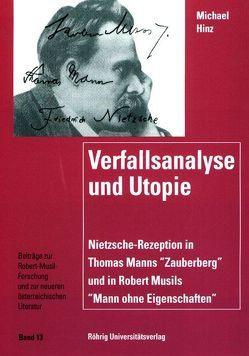 Verfallsanalyse und Utopie von Hinz,  Michael