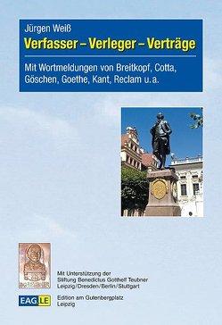 Verfasser – Verleger – Verträge von Weiss,  Jürgen