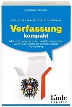 Verfassung kompakt von Holzinger,  Gerhart, Kommenda,  Benedikt