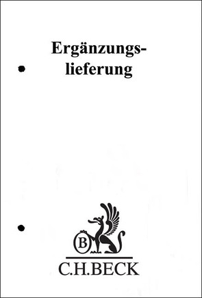 Verfassungs- und Verwaltungsgesetze 126. Ergänzungslieferung