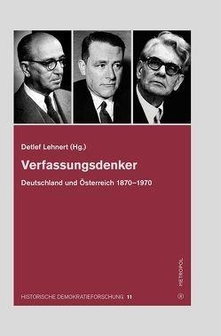 Verfassungsdenker von Lehnert,  Detlef