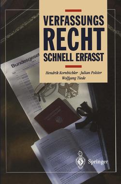 Verfassungsrecht von Kornbichler,  Hendrik, Polster,  Julian, Tiede,  Wolfgang