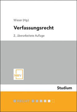 Verfassungsrecht von Wieser,  Bernd